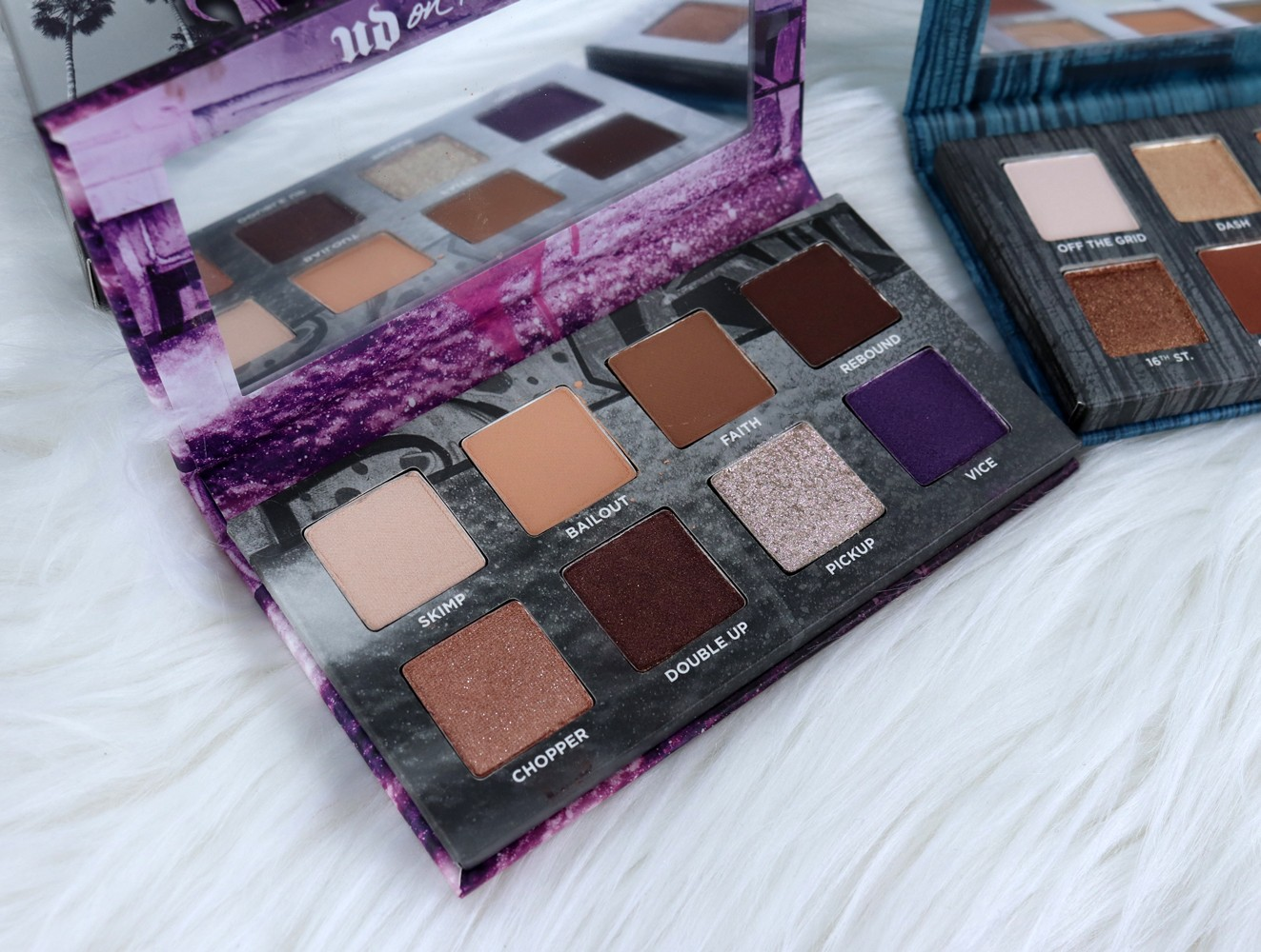Urban Decay Born to Run Bailout Eyeshadow Palette Review