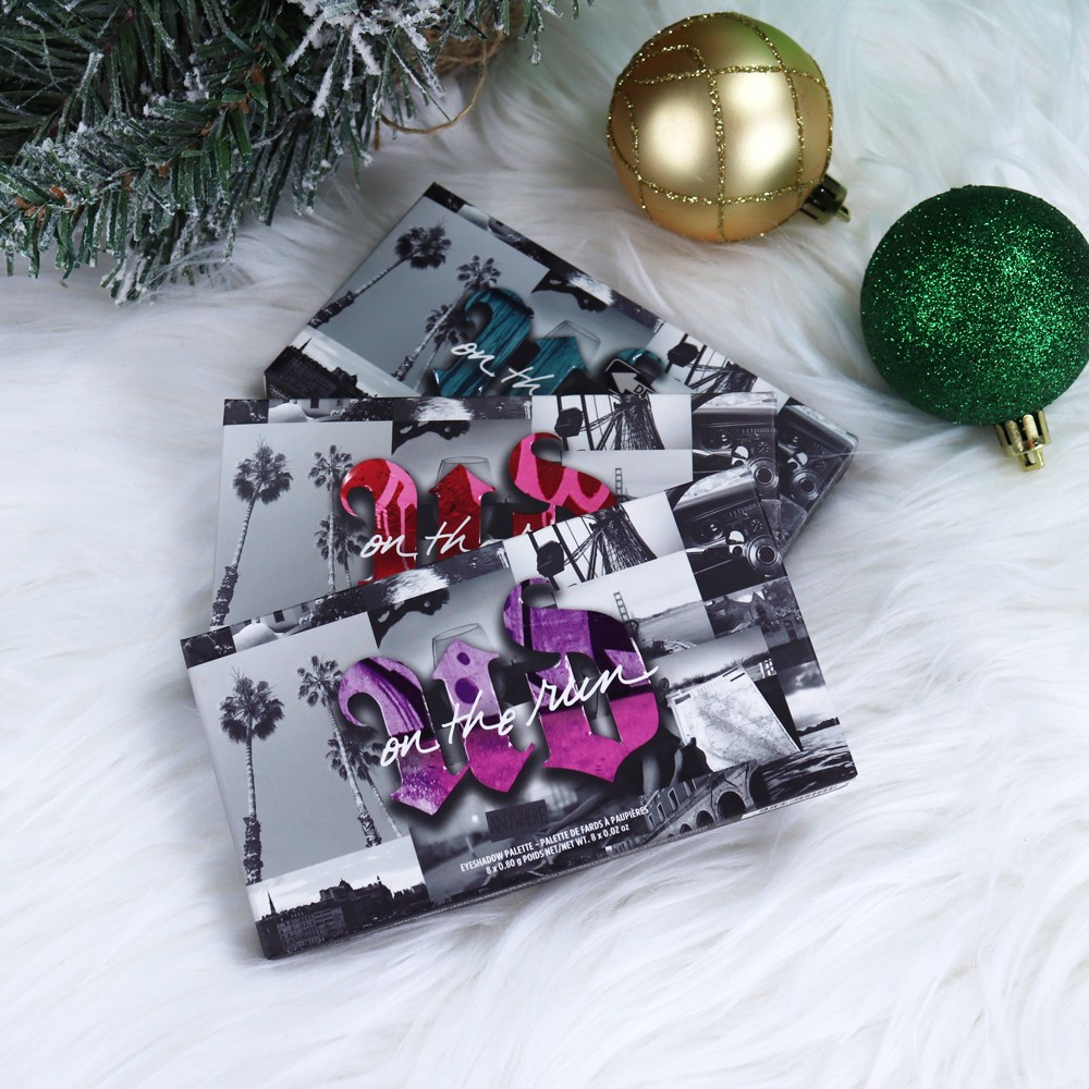 Urban Decay On The Run Eyeshadow Palettes Review