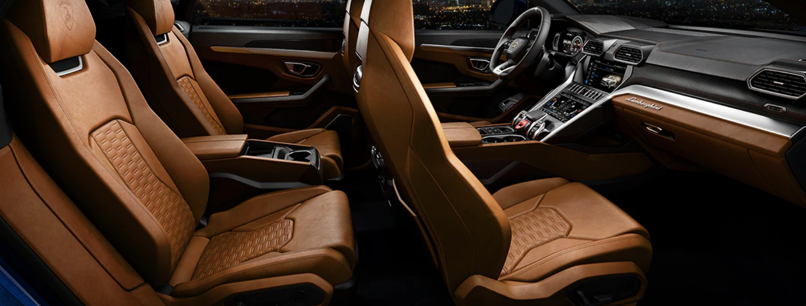 Interior of the Lamborghini SUV Urus: A Look Inside