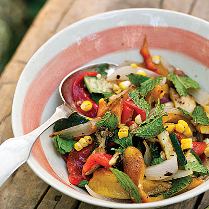 Fire Roasted Vegetable Salad Gourmet Camping Recipes for Your Glamping Adventure