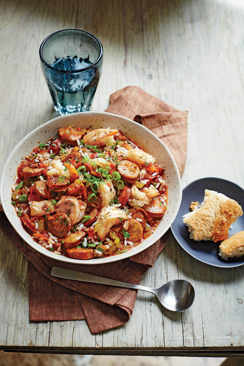 Andouille Sausage Jambalaya With Shrimp Mardi Gras Food: Delectable Dishes Everyone Needs to Try