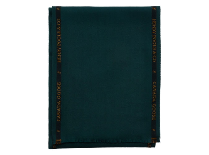 WOVEN SELVEDGE SCARF X HENRY POOLE
