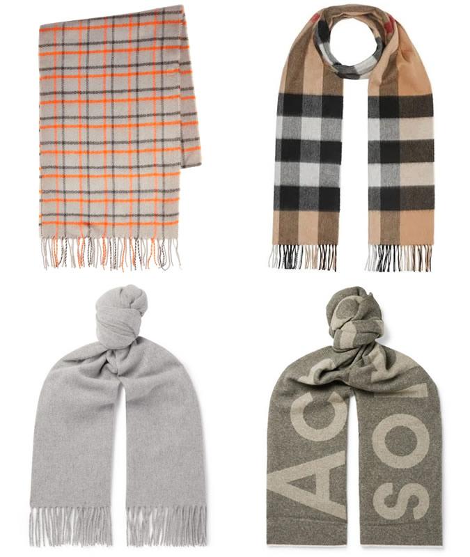 The best long scarves for men