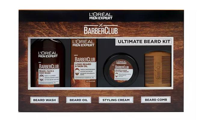 L'Oreal Men Expert Barber Club Ultimate Beard Grooming Kit