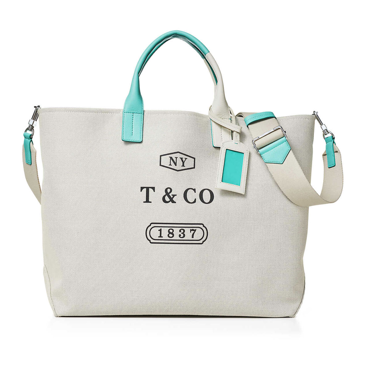 Tiffany Color Block Weekend Tote 5 Luxury Gifts for Your Love
