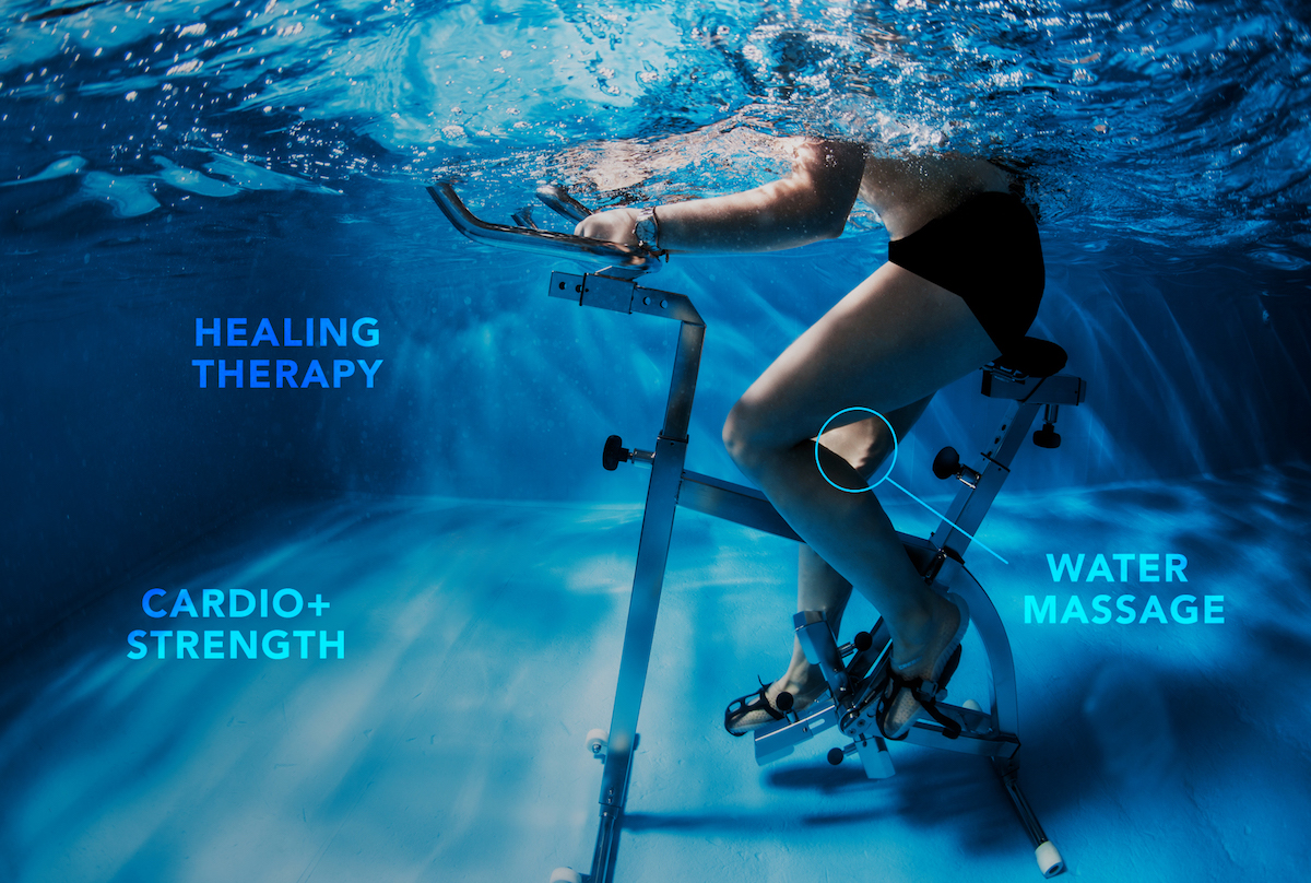 Aqua Studio Underwater Cycling trending workouts to try in new york
