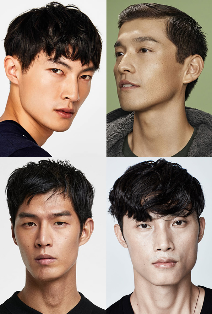 Hairstyles and haircuts for Asian men