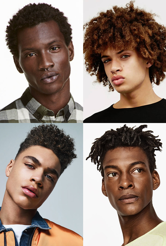 Afro hairstyles and haircuts for black men