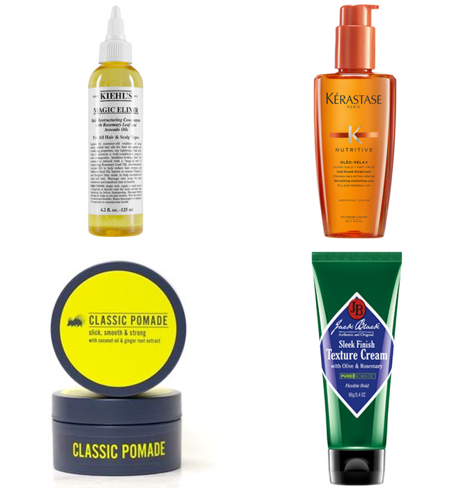 The Best Styling Products For Unruly Hair