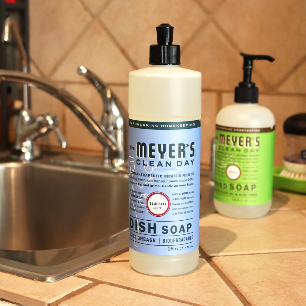 Cruelty free cleaning products - Mrs Meyers Clean Day