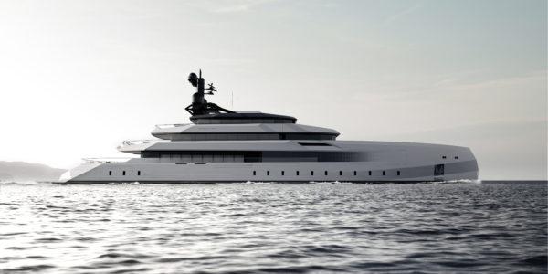 Lobanov Design drew the futuristic 75m Begallta