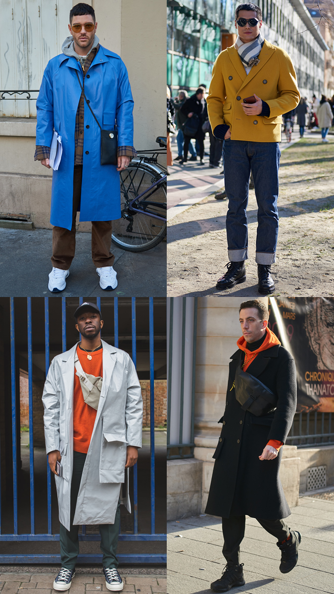 AW19 Street Style Trends Colour Pop