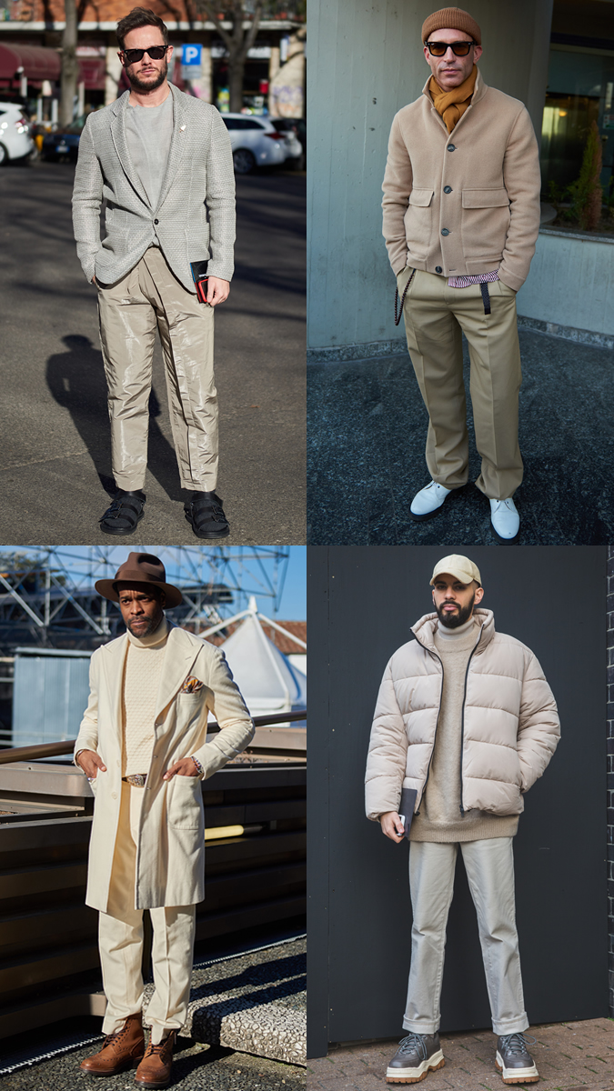 AW19 Street Style Trends Tonal Neutrals
