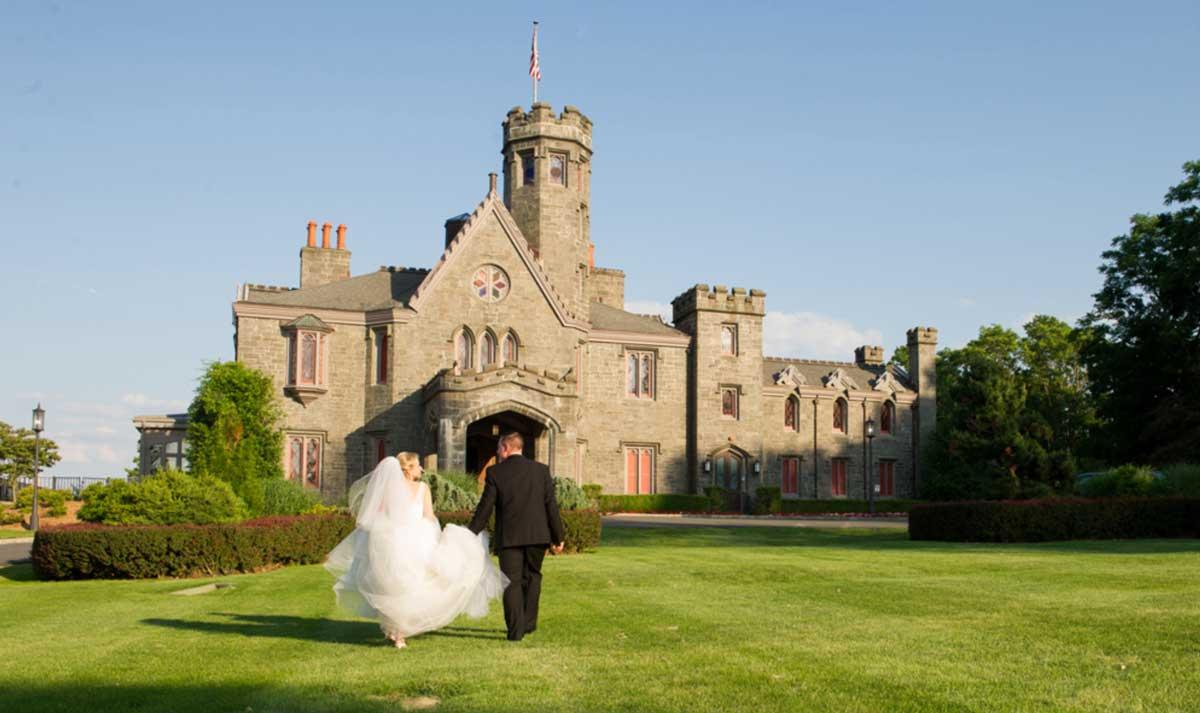 Whitby Castle Wedding in a Castle