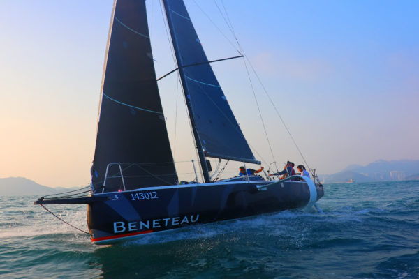 The yacht was given a full workout in Hong Kong before heading to Taiwan