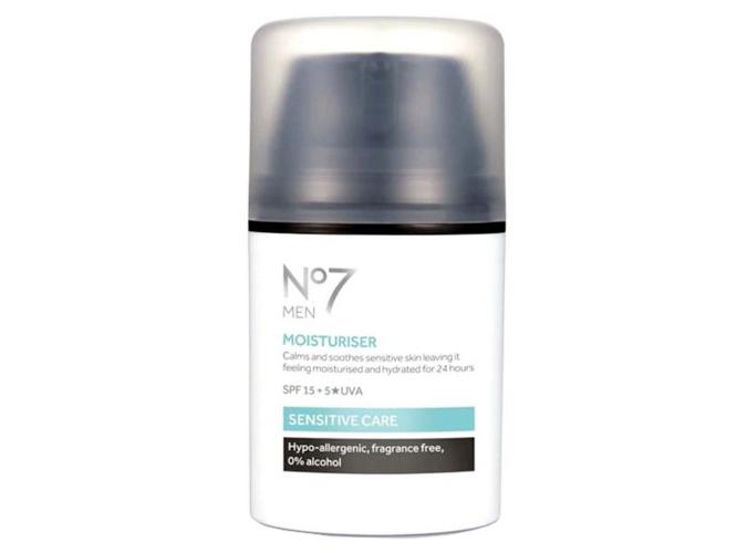 No7 Men Sensitive Care Moisturiser