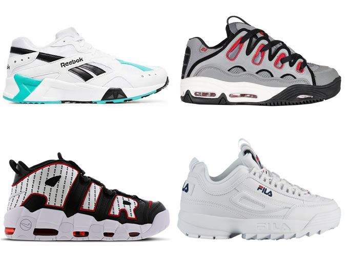 The best 90s-style sneakers for men