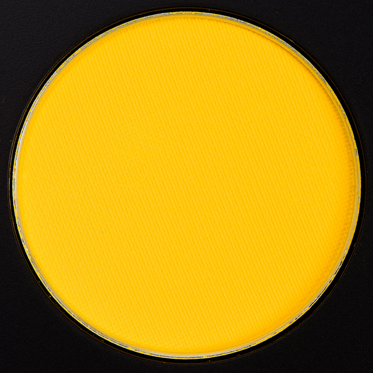 MAC Chrome Yellow Eyeshadow