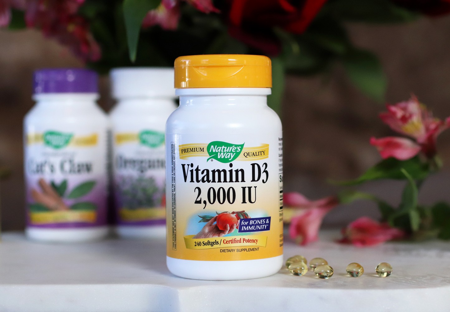 Best supplements for your immune system - Natures Way from iHerb - Vitamin D