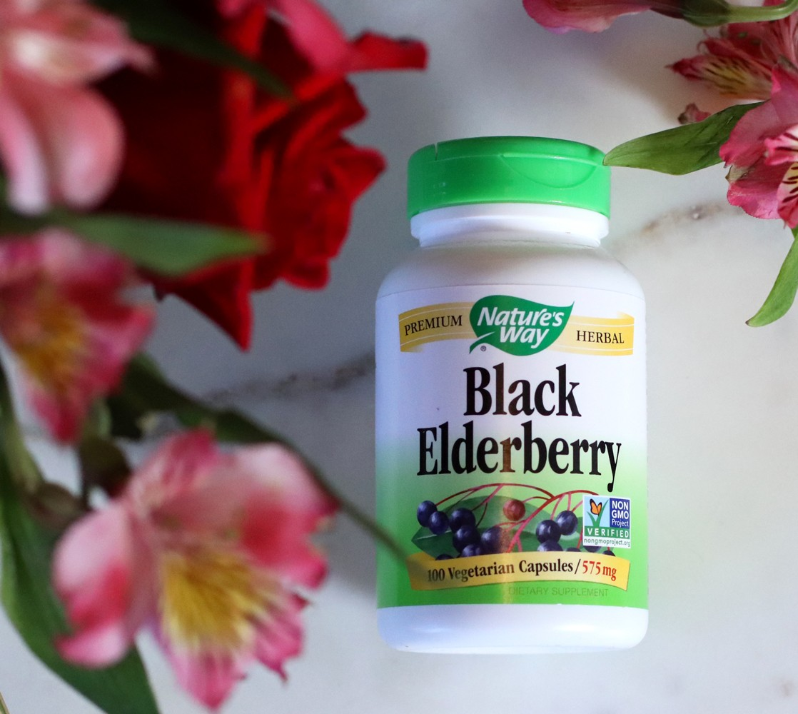 Best supplements for your immune system - Natures Way from iHerb - Black Elderberry