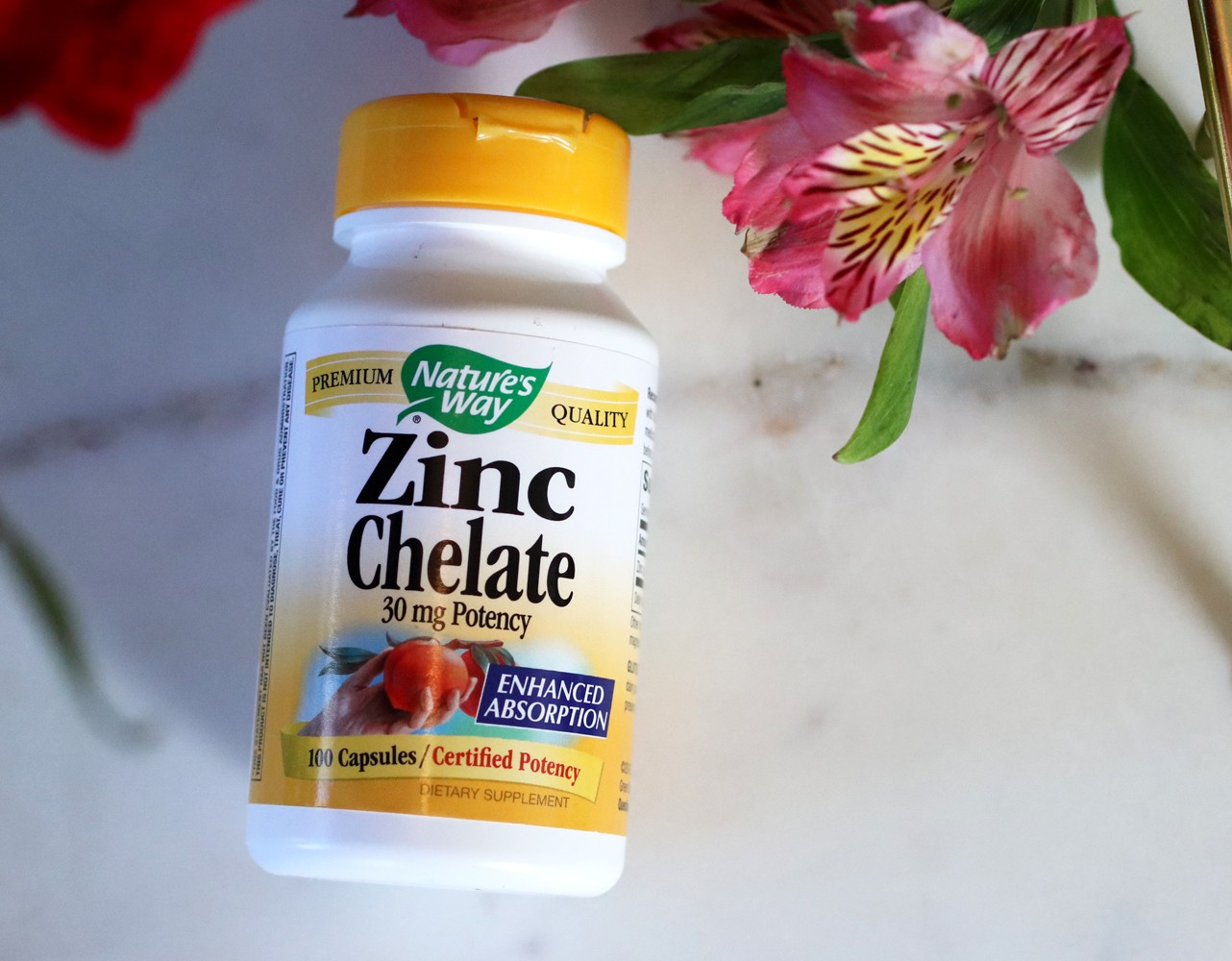 Best supplements for your immune system - Nature's Way from iHerb - Zinc Chelate