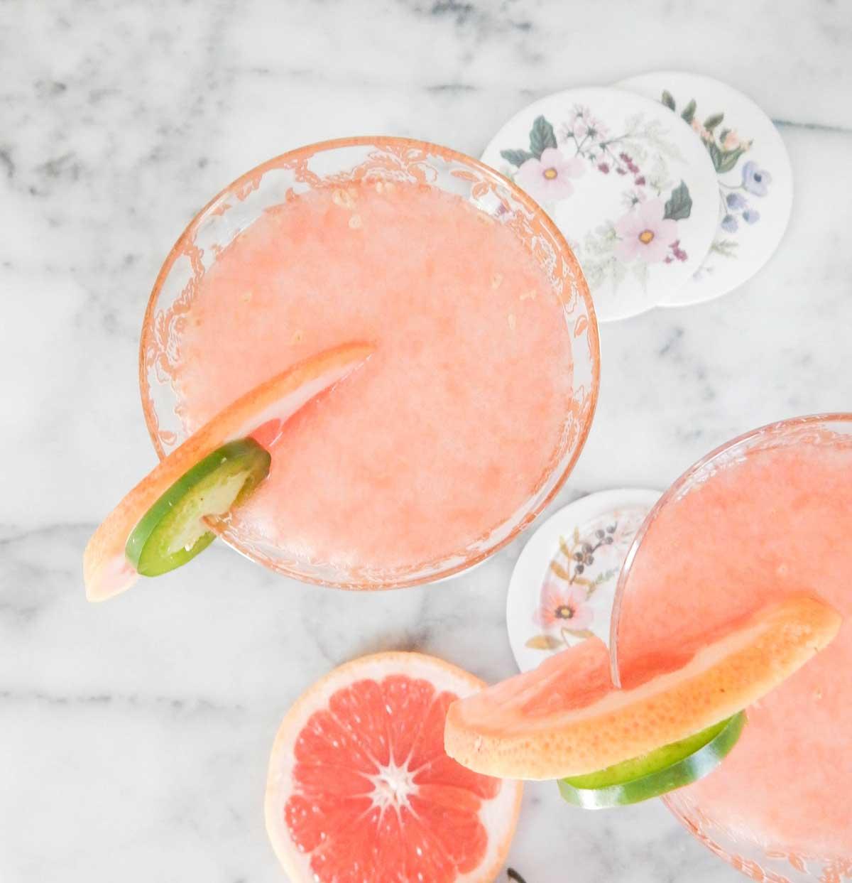 Grapefruit Sunrise Cocktails for Easter