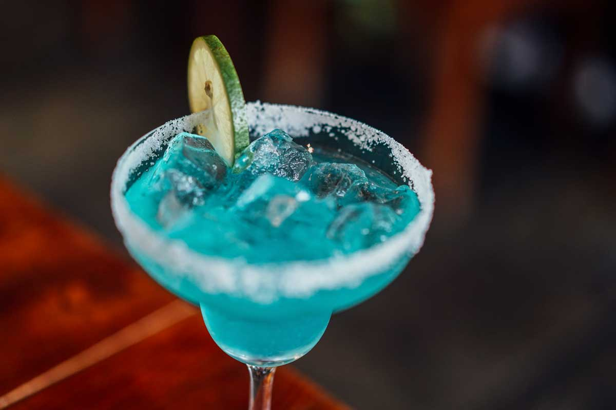 Blue Cocktail Easter Cocktails Your Family and Friends Will Love