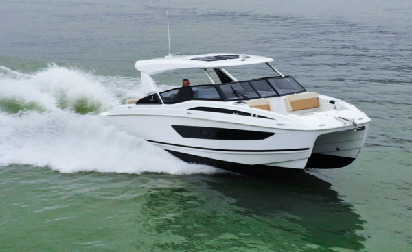 The new Aquila 30 is the shipyard's smallest model