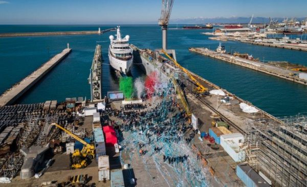 Benetti launched its second 100m-plus gigayacht in early February