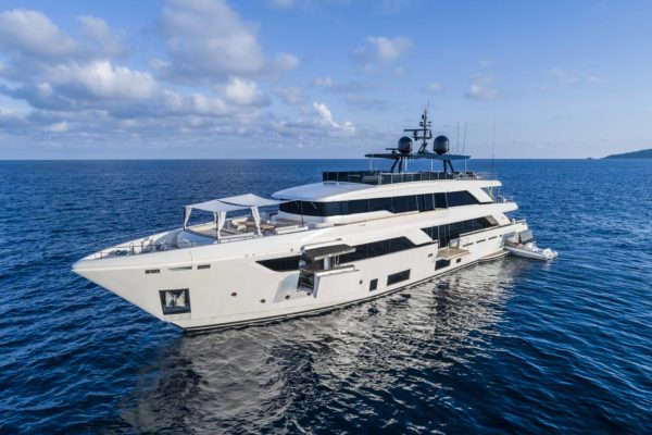 At 41.8m, the Navetta 42 is Custom Line's new flagship
