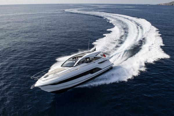 Fairline's new Targa 43 Open can power over 30 knots