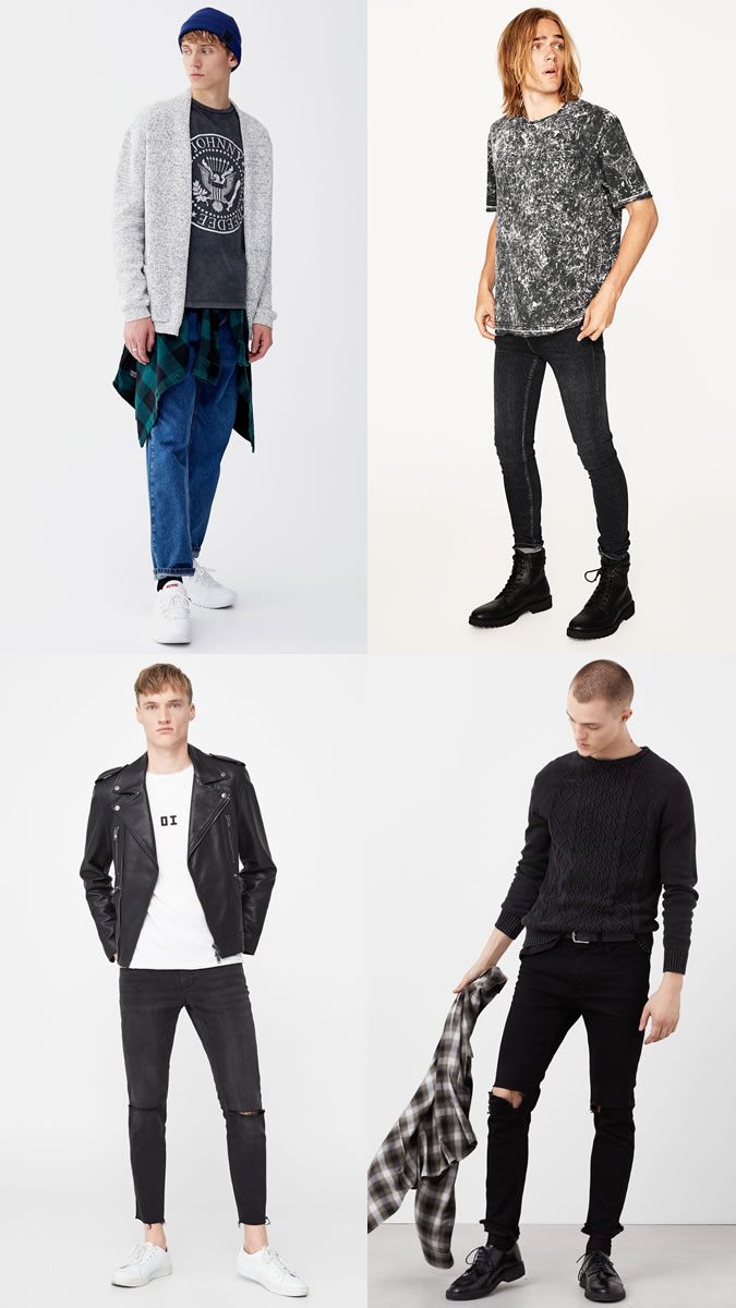 The best grunge clothes for men