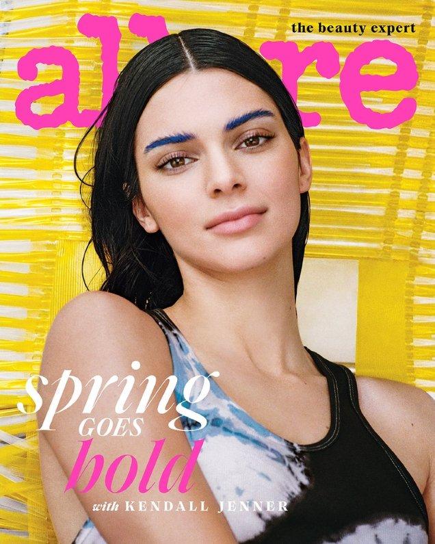 Allure March 2019 : Kendall Jenner by Cass Bird
