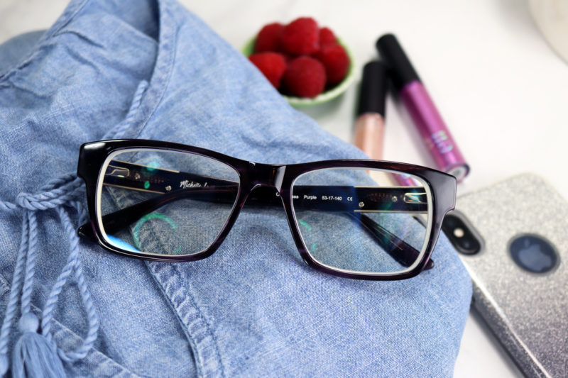 Michelle Lane Chelsea Eyeglass Frames from Coastal Eyewear - Review by Popular Los Angeles Lifestyle Blogger, My Beauty Bunny