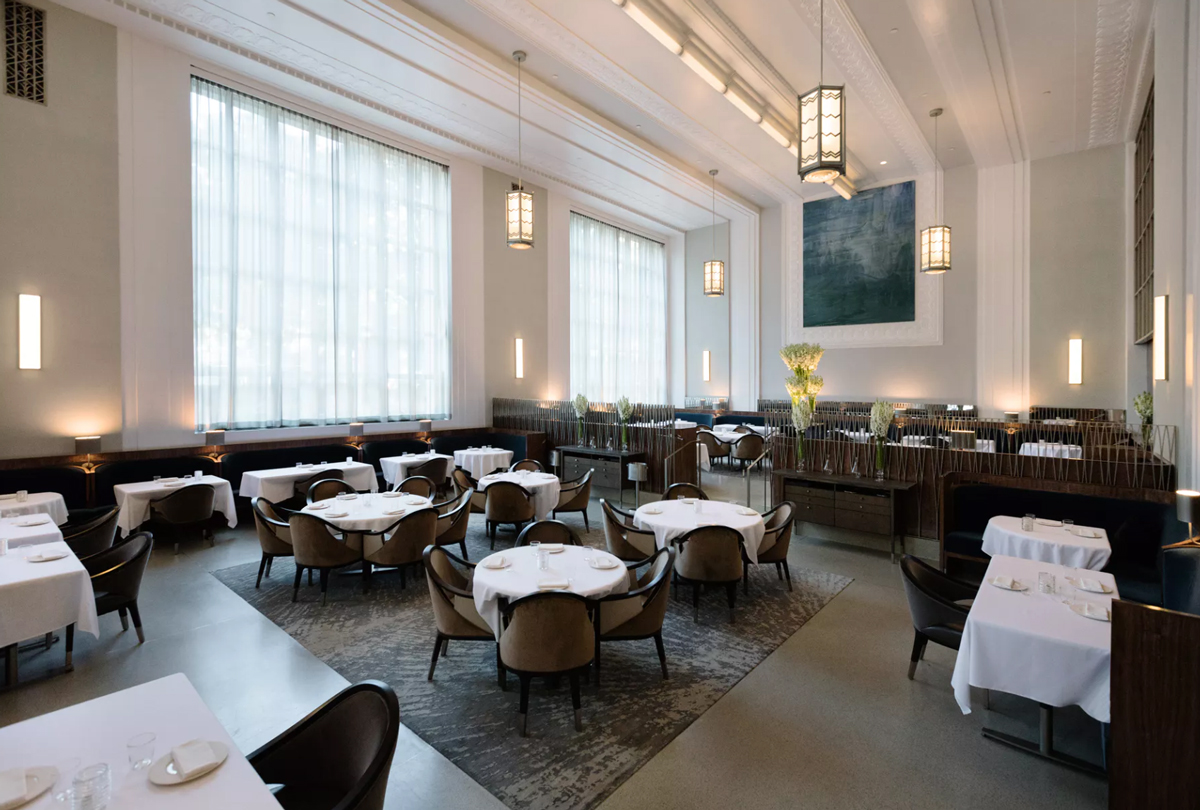Eleven Madison Park restaurants with 3 michelin stars
