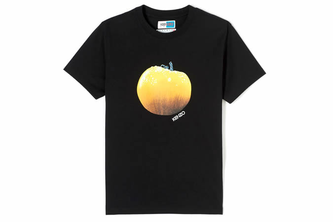 KENZO BLACK Tomato T-shirt