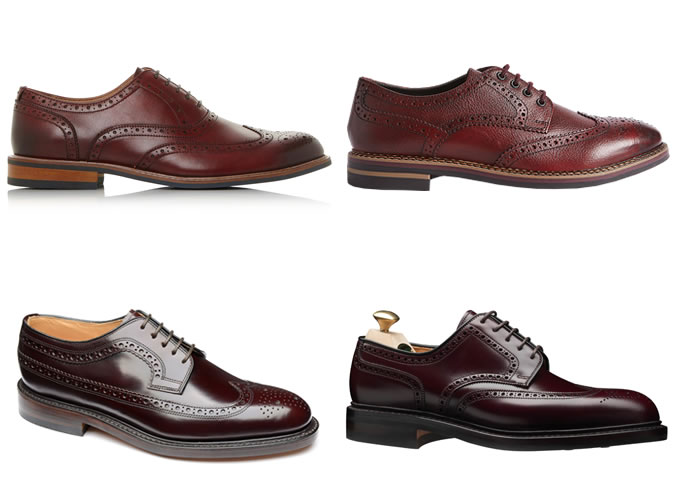The best oxblood brogues for men