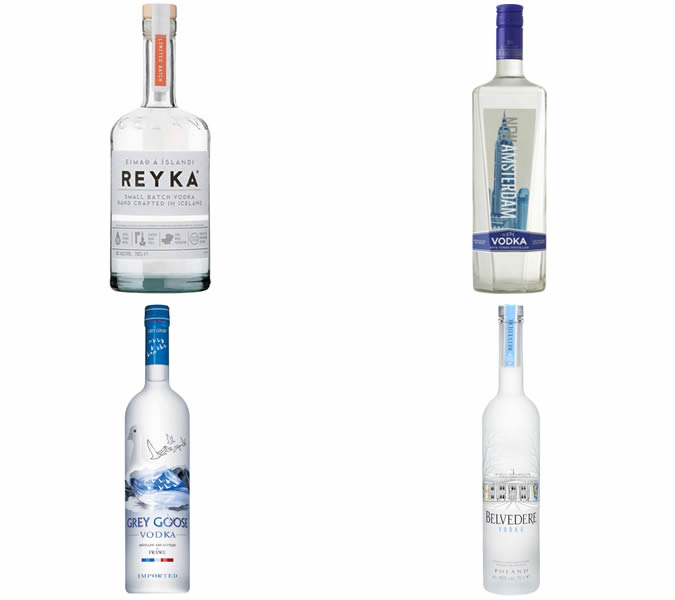 The best vodkas for a martini