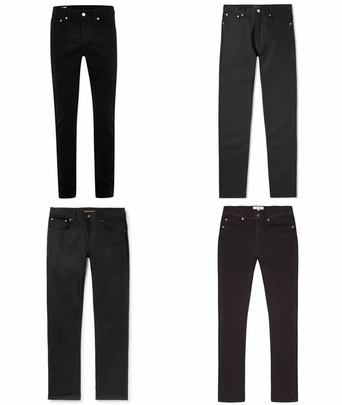The best black jeans for men