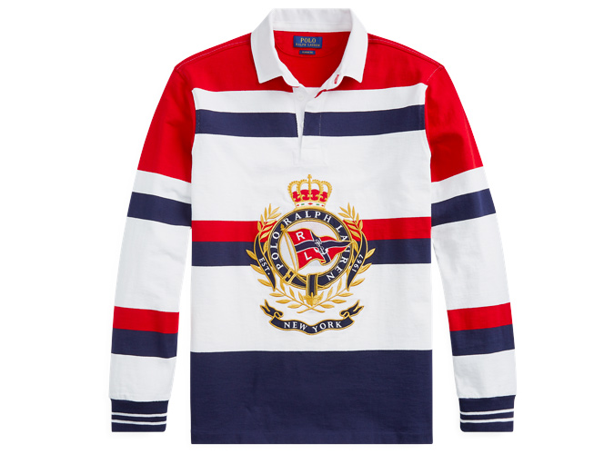 POLO RALPH LAUREN Classic Fit Graphic Rugby Shirt