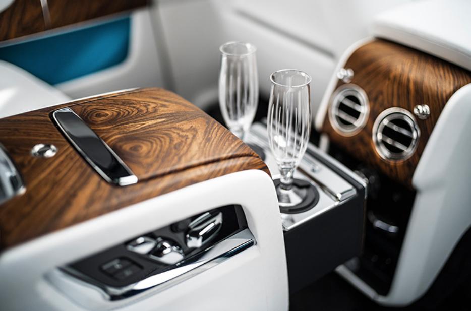 Interior of the Rolls-Royce Cullinan