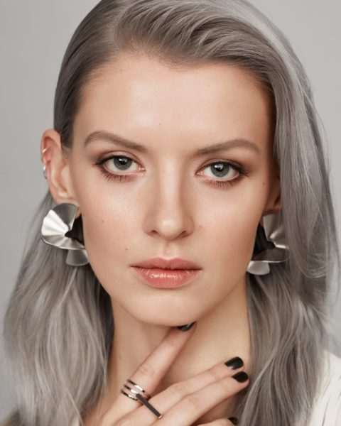 Get silver hair at home