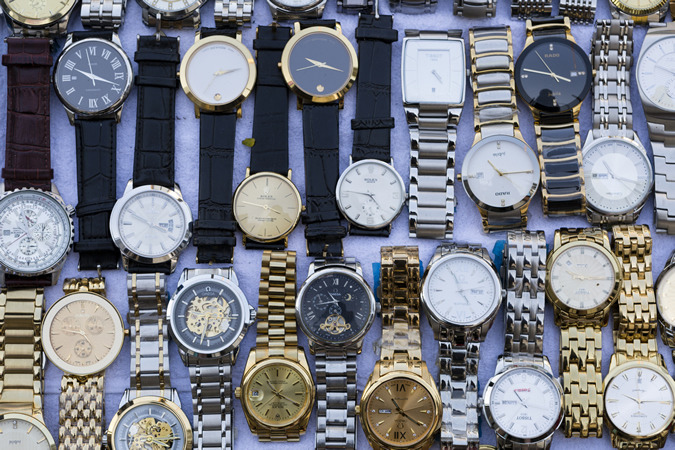 Selection Of Fake Watches