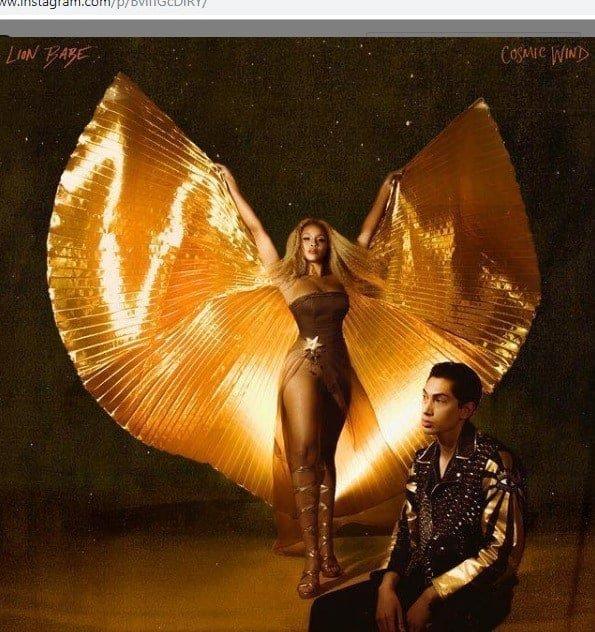 Lion Babe Cosmic Wind Album Cover