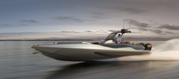 Sunseeker's new Hawk 38 will reach 62 knots
