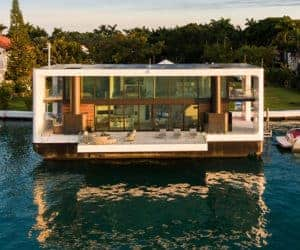 the arkup 1 floating home is a us 5 million luxury. Black Bedroom Furniture Sets. Home Design Ideas
