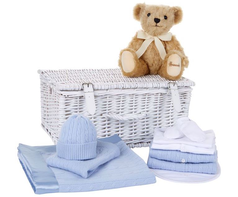 Cashmere Hamper luxury gifts for baby