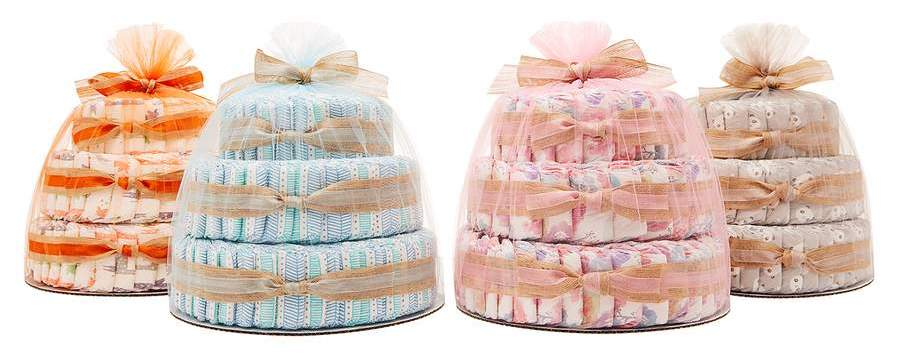 Diaper Cake luxury baby gifts