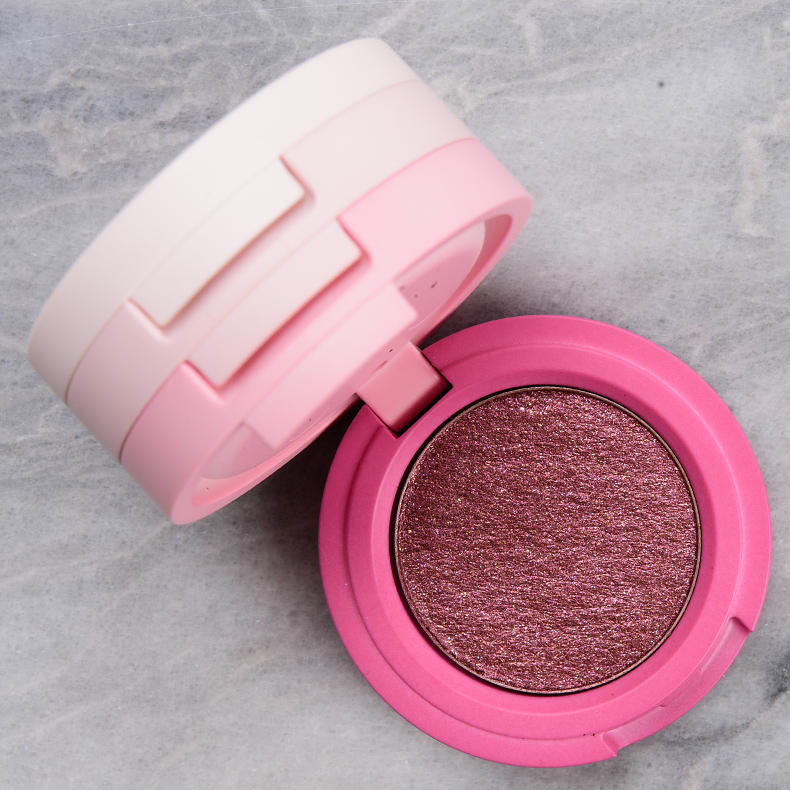 Kaja Deep Plum Bounchy Shimmer Eyeshadow