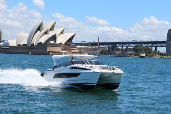 The Aquila 36 was reviewed in Sydney